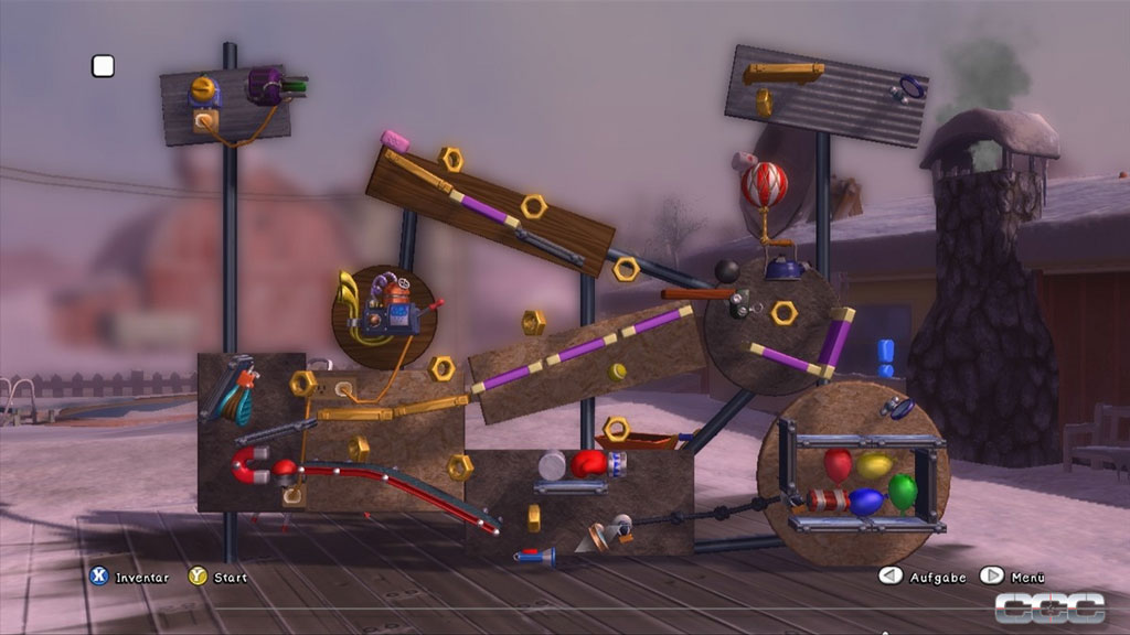 Crazy Machines Elements Review For Xbox 360 Cheat Code Central