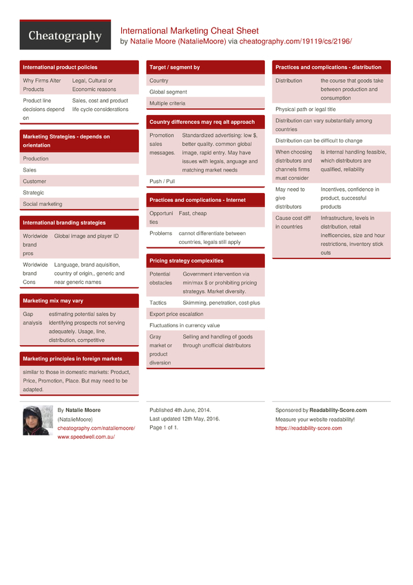 product inventory sheet