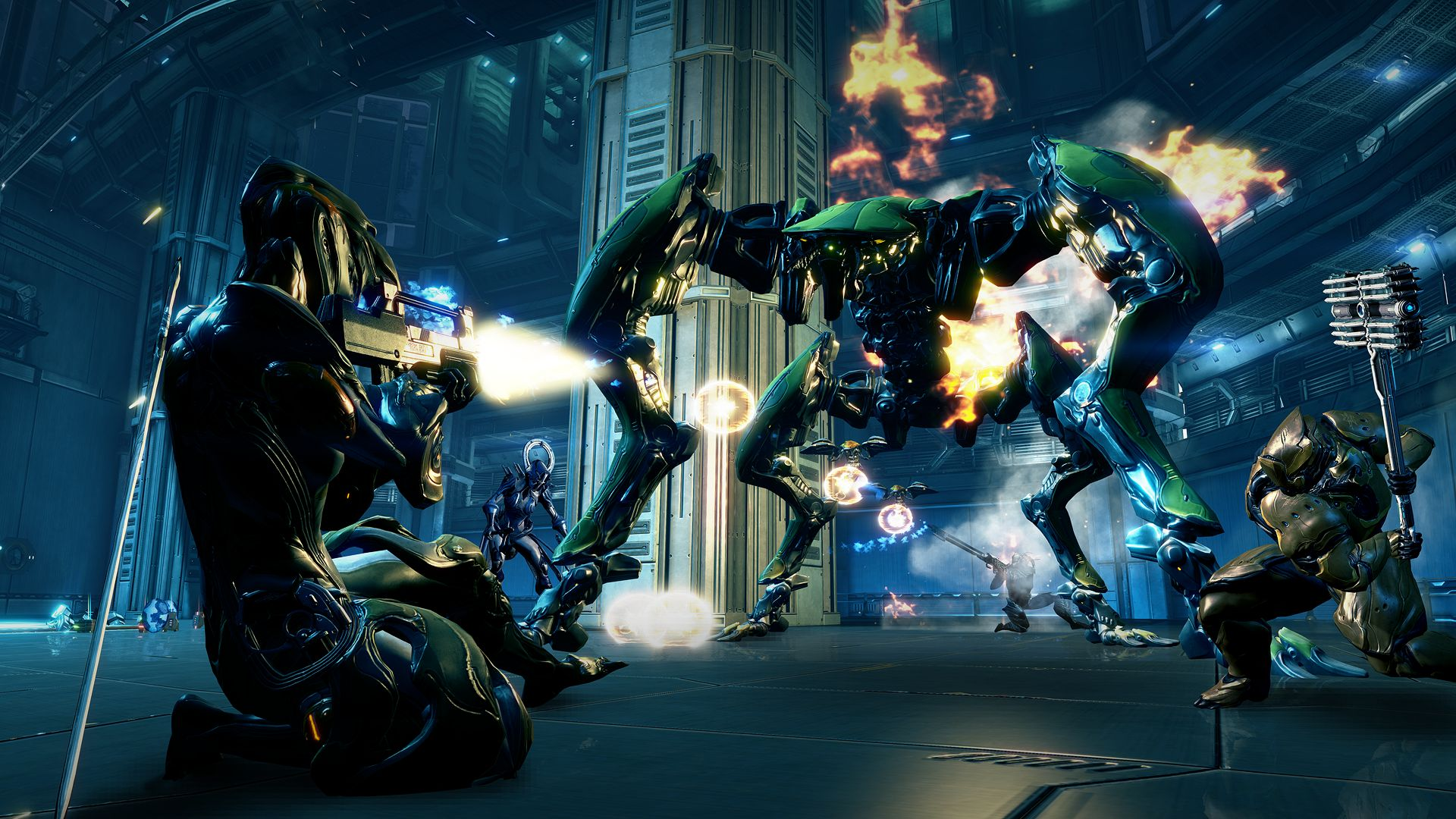 PS4 Warframe Update New Warframe Mode And More