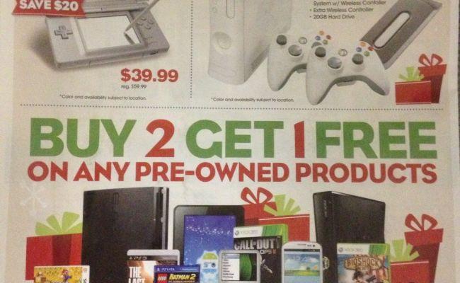 Gamestop Black Friday Flyer Leaked Cheats Co