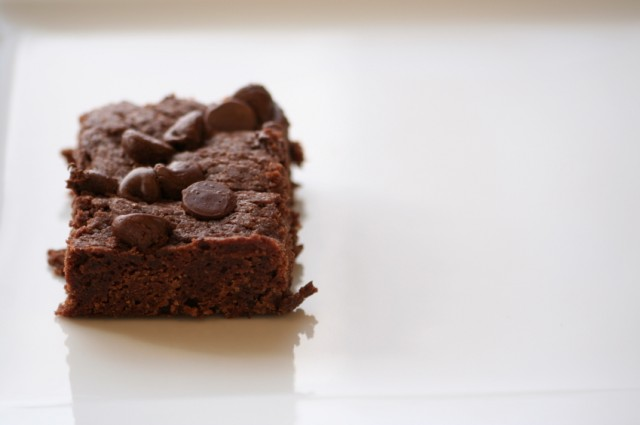 Chocolate Chocolate Chip Brownies