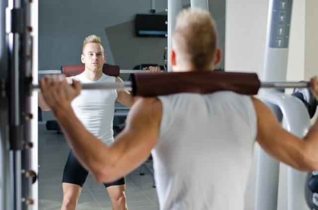 Beginners might want to stay away from strength workouts involving barbells, for now.