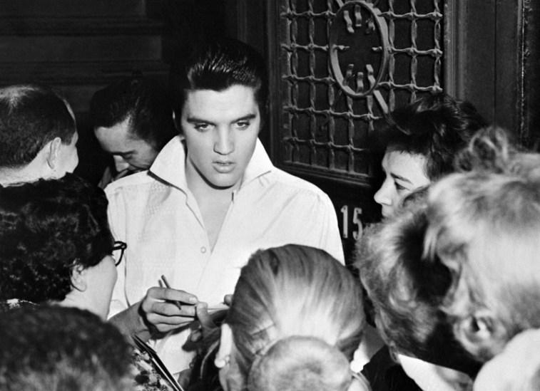 Elvis Presley, the King