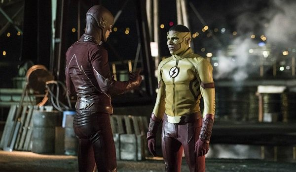 Image result for The Flash Season 4 Set Photos Confirm Major Change For One Hero