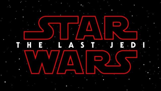 Star Wars: The Last Jedi title card