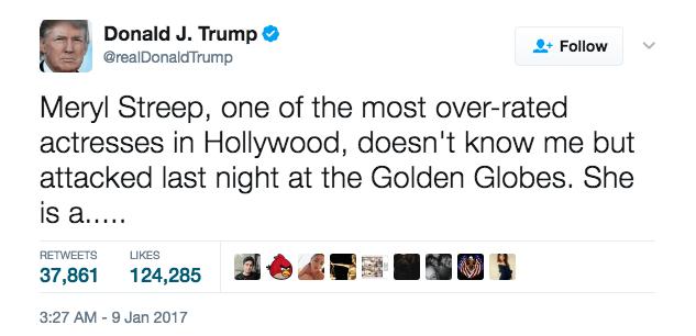 15 of Donald Trumps Worst Tweets So Far