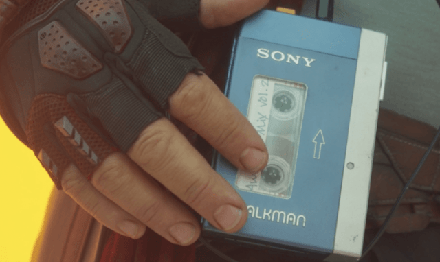Guardians of the Galaxy vol. 2 cassette player