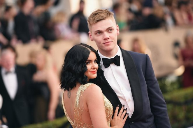 Actors Ariel Winter and Levi Meaden attend the 23rd Annual Screen Actors Guild Awards at The Shrine Expo Hall on January 29, 2017 in Los Angeles, California.
