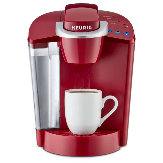 Red Keurig Machine