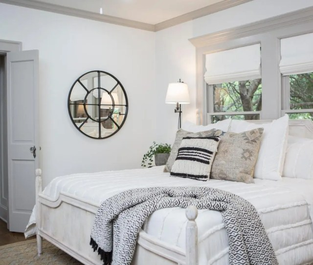 Bright Bedroom Fixer Upper