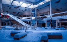 Abandoned Rolling Acres Mall