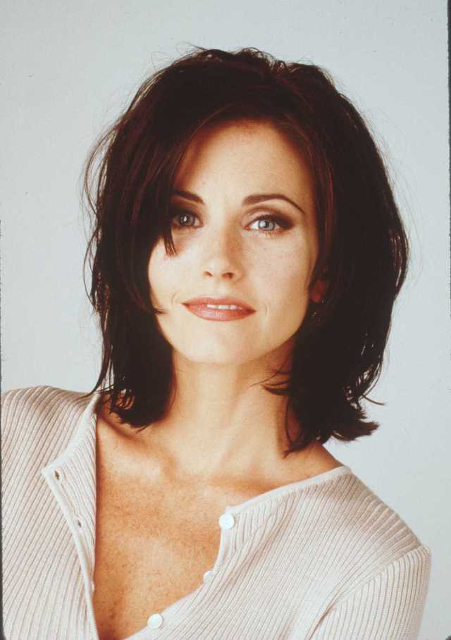 before and after photos of courteney cox's changing looks