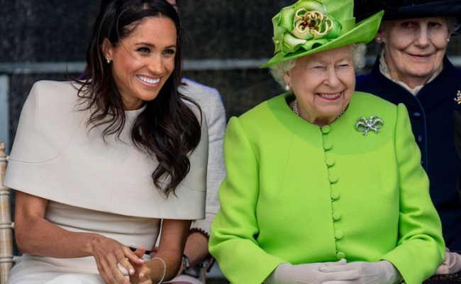 Why Did Queen Elizabeth Have To Pull Meghan Markle Aside