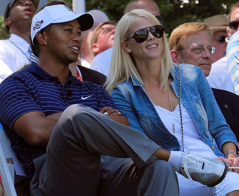 photos of tiger woods children and ex wife