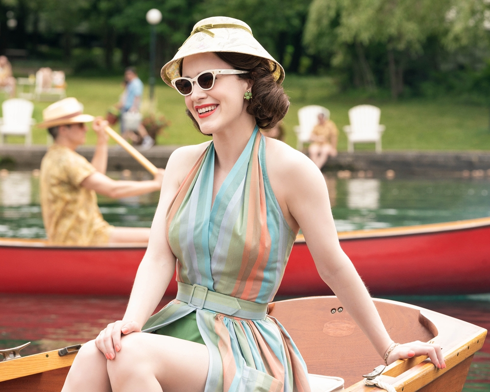 The throwing of Mrs. Maisel
