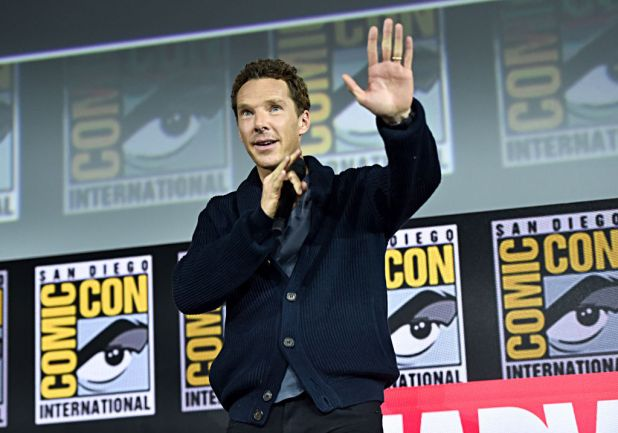 Doctor Strange in the multiverse of madness actor Benedict Cumberbatch
