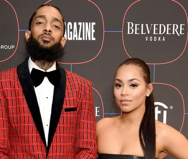 Lauren London Struggles To Talk About Her Last Day With Nipsey Hussle