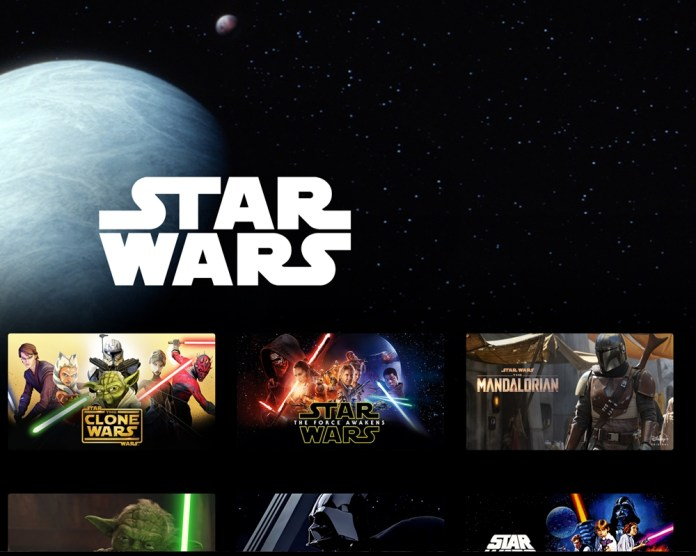 Star Wars Day on Disney +