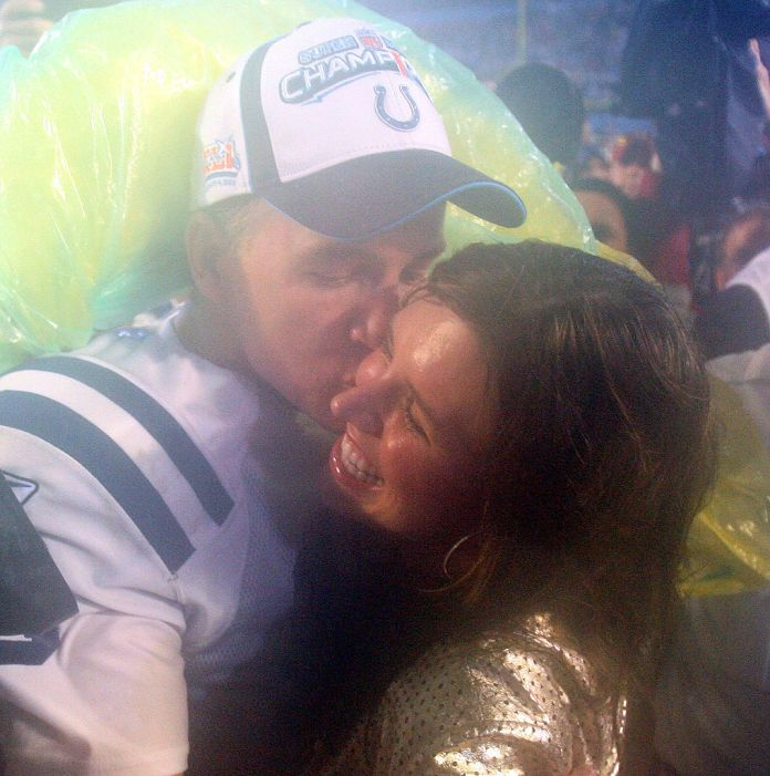 Peyton Manning and his wife Ashley