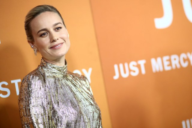 Brie Larson on the red carpet