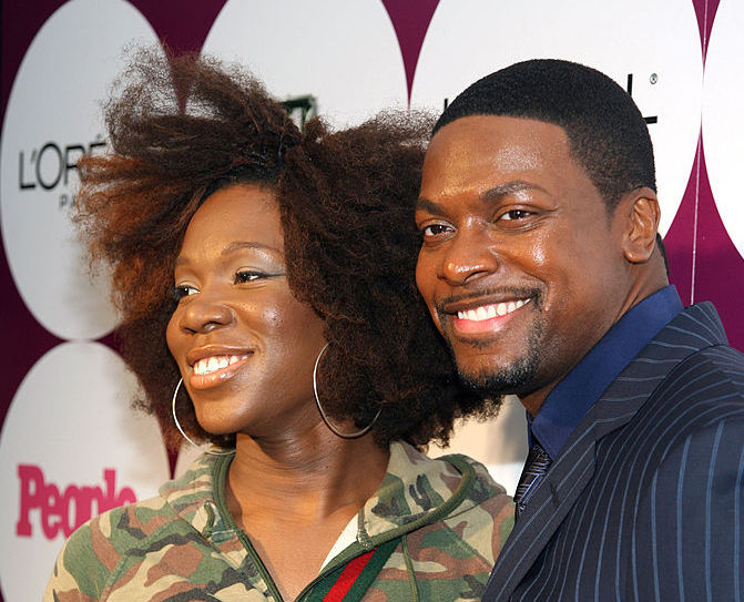 India.Arie and Chris Tucker