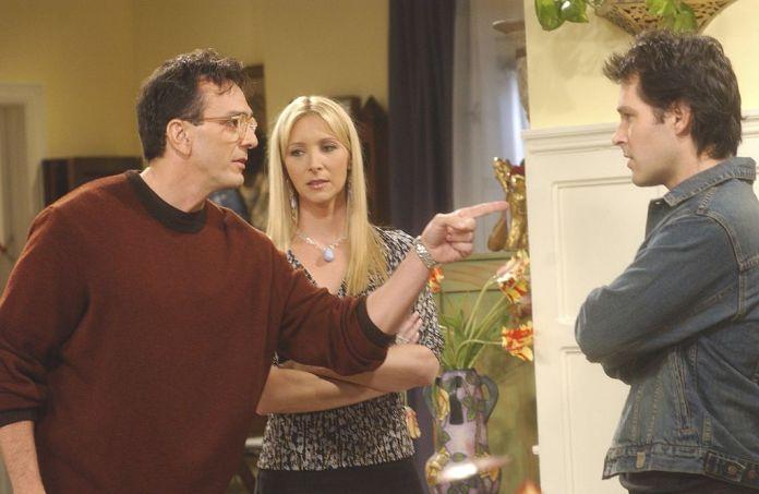 Lisa Kudrow on the set of friends | Bank of photos Danny Feld / NBCU
