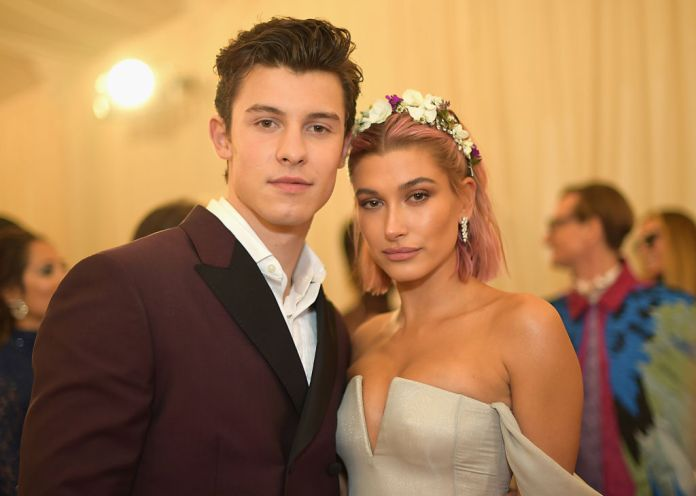 Shawn Mendes and Hailey Bieber