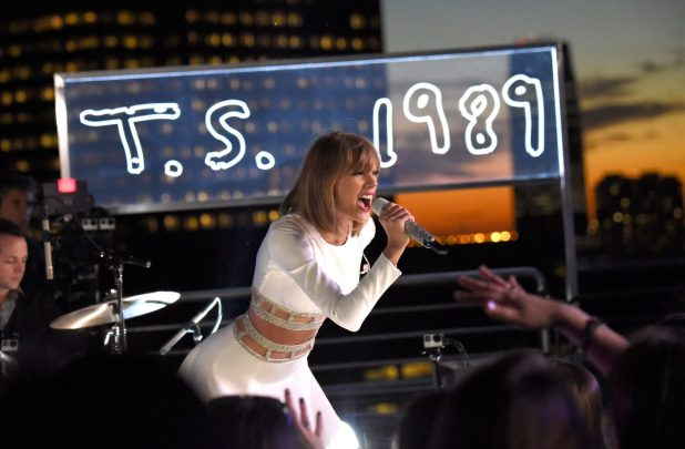 Taylor Swift performs with iHeartRadio on October 27, 2014 in New York City during their 1989 secret session.