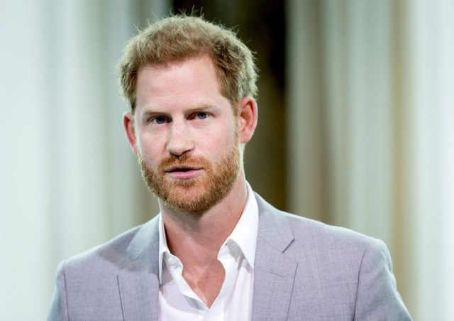Prince Harry attends Adam Tower project introduction in 2019