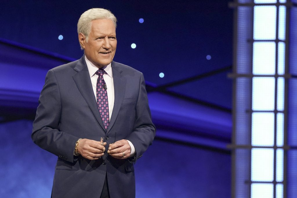 Alex Trebek on 'Jeopardy!'  The biggest competition of all time