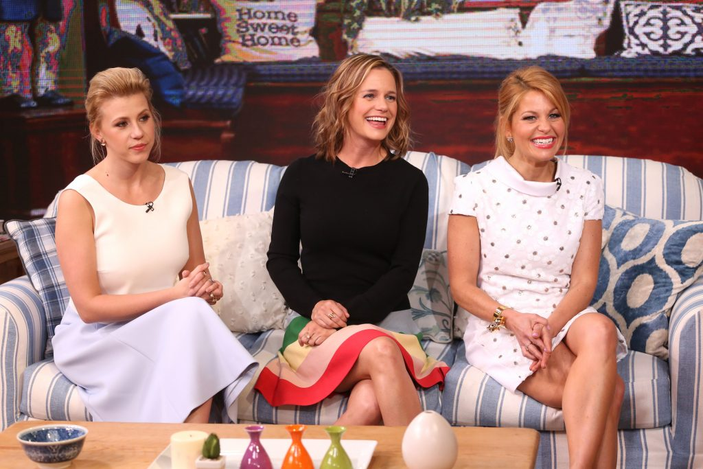 Candace Cameron Bure, Jodie Sweetin, and Andrea Barber from 'Fuller House'