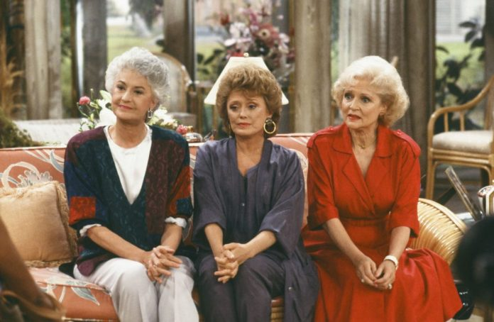 Bea Arthur as Dorothy, Rue McClanahan as Blanche, and Betty White as Rose Nylund    NBC / NBCU Photo Bank