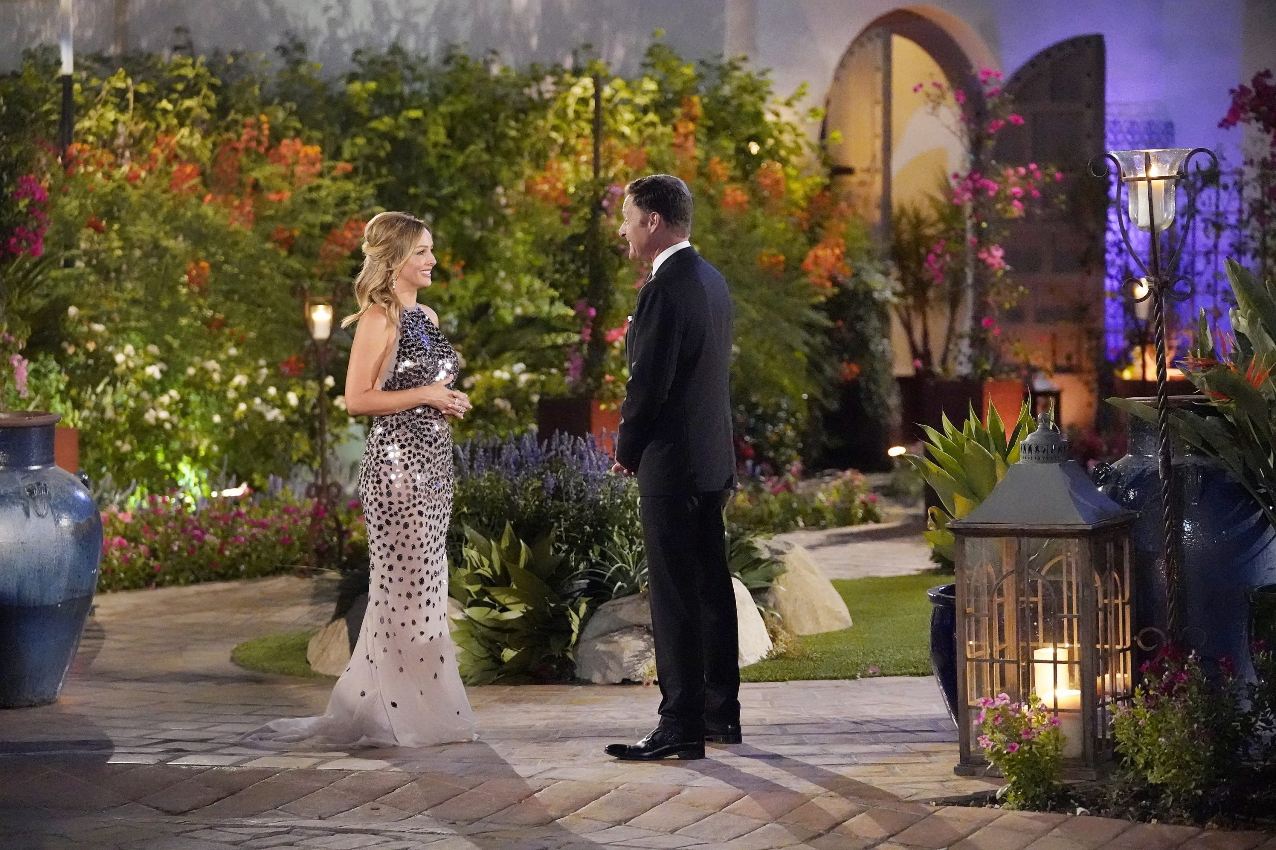 'The Bachelorette' Clare Crawley and Chris Harrison