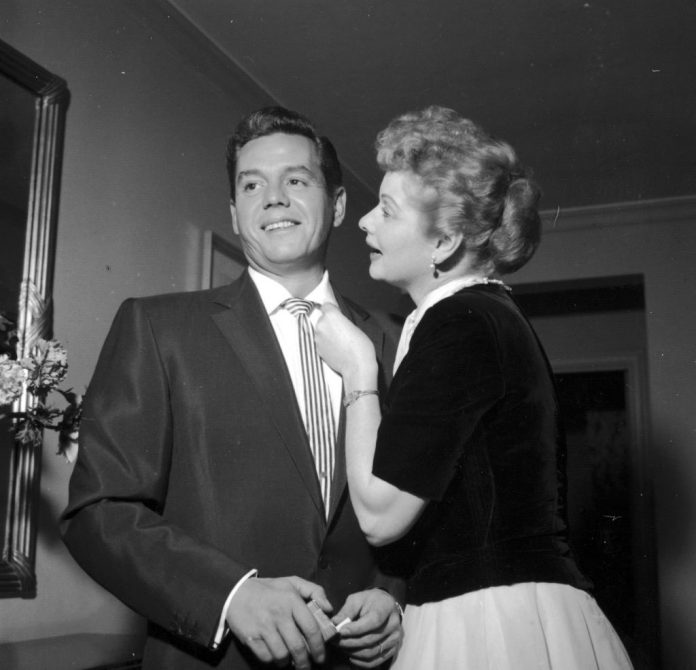 Member Lucille and Desi Arnaz of 'I Love Lucy'