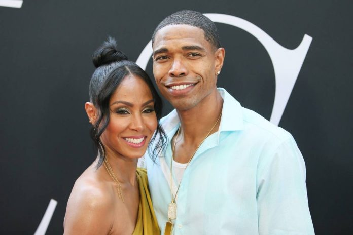 "Actress Jada Pinkett Smith and her brother Caleeb Pinkett will attend Universal Pictures' premiere ""Girls Tour"" at Regal LA Live Stadium 14 on July 13, 2017 in Los Angeles, California."
