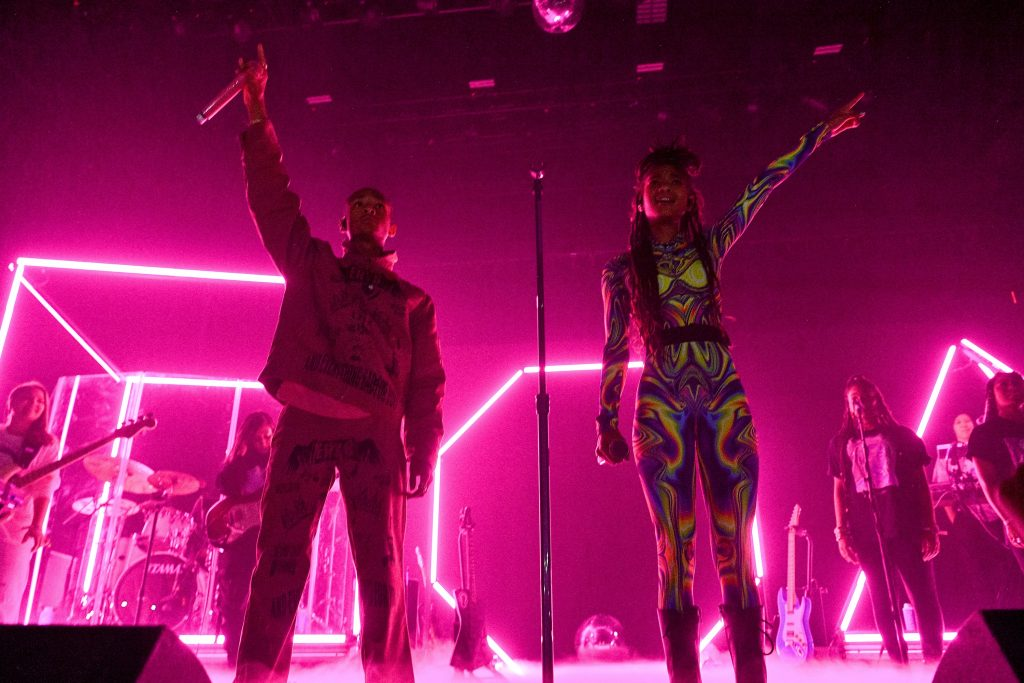 Jaden Smith and Willow Smith will perform on stage during The Willow & Erys Tour
