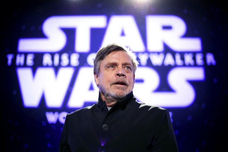 Mark Hamill à la première de 'Star Wars: The Rise Of Skywalker'