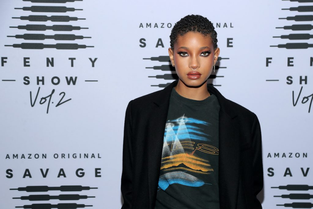 Willow Smith attends Rihanna's Savage X Fenty Show Vol.  2 presented by Amazon Prime Video at the Los Angeles Convention Center in Los Angeles, California;  and was broadcast on 2 October 2020.