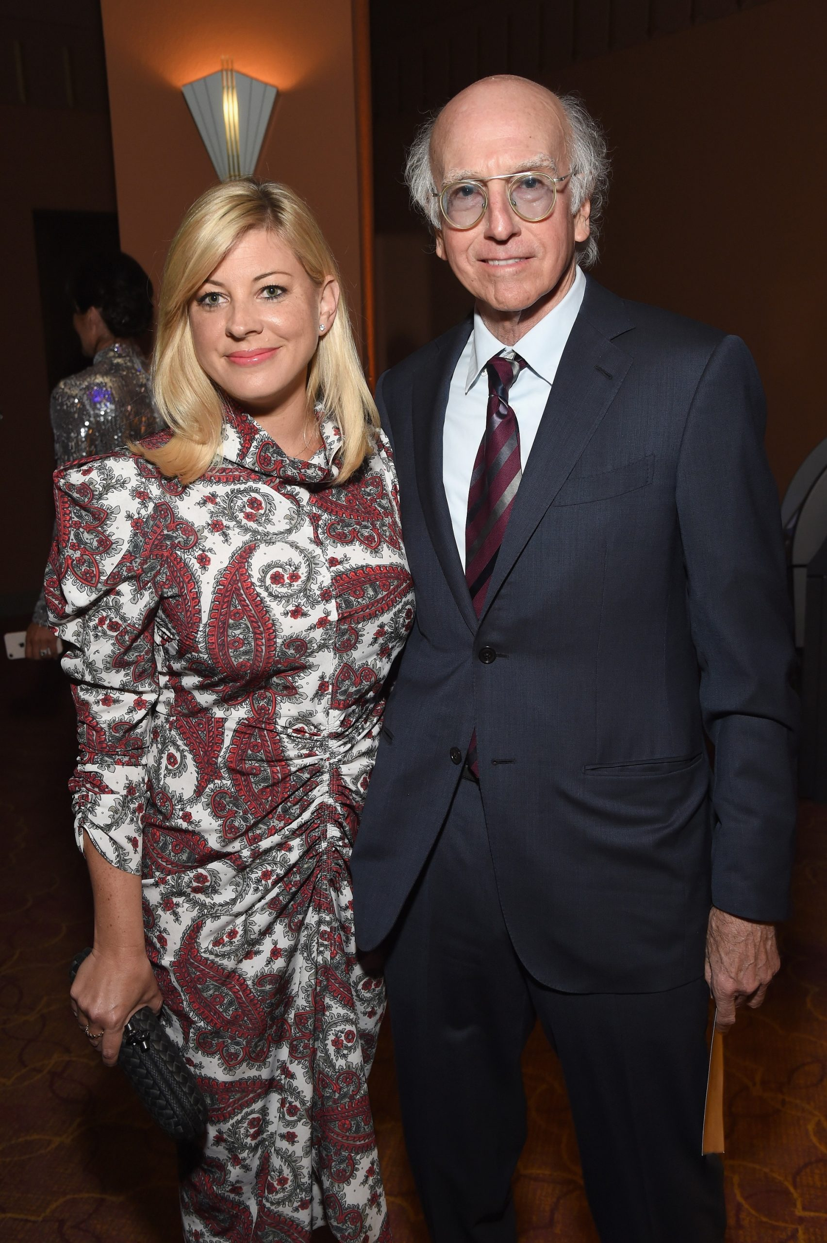 Ashley Underwood and Larry David