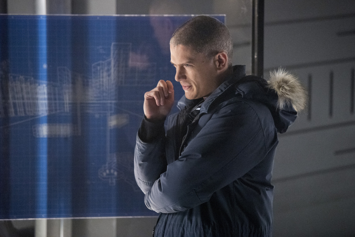 Wentworth Miller on the Flash