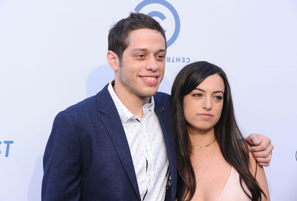 Pete Davidson and Cazzie David will attend Rob Lowe's Comedy Central Roast on August 27, 2016, in Los Angeles, California.