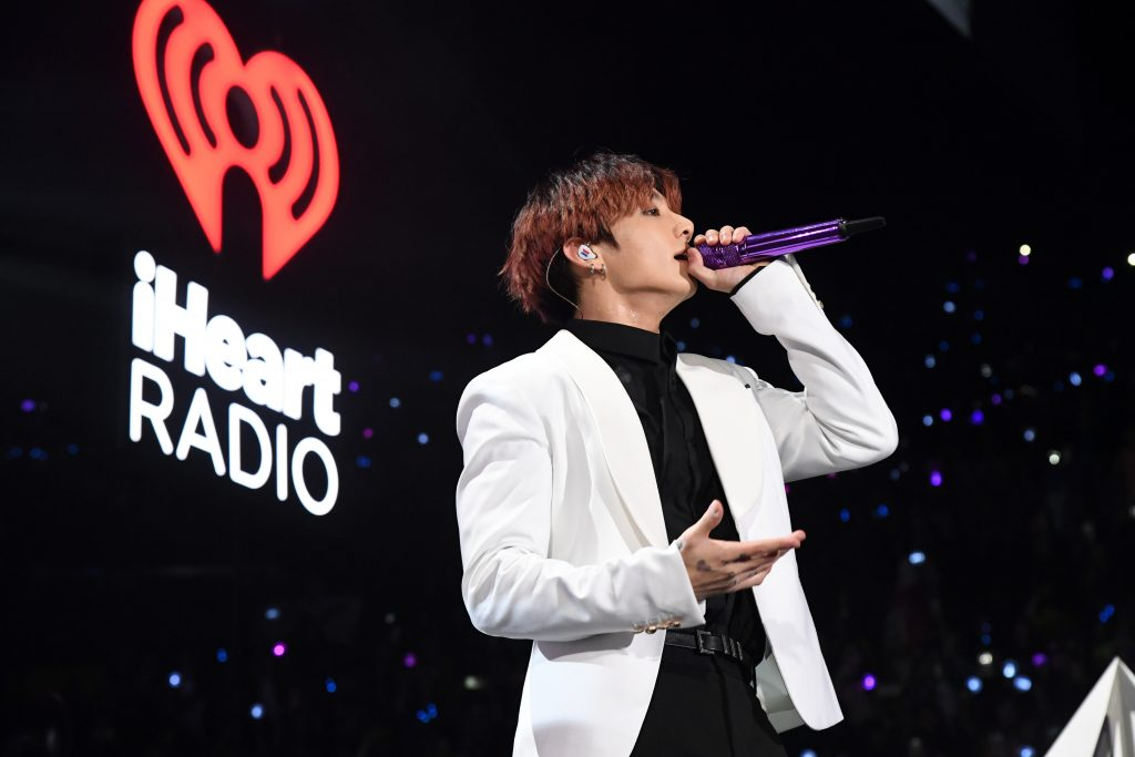 Jungkook of BTS will play on stage during 102.7 Jingle Ball 2019 at KIIS FM