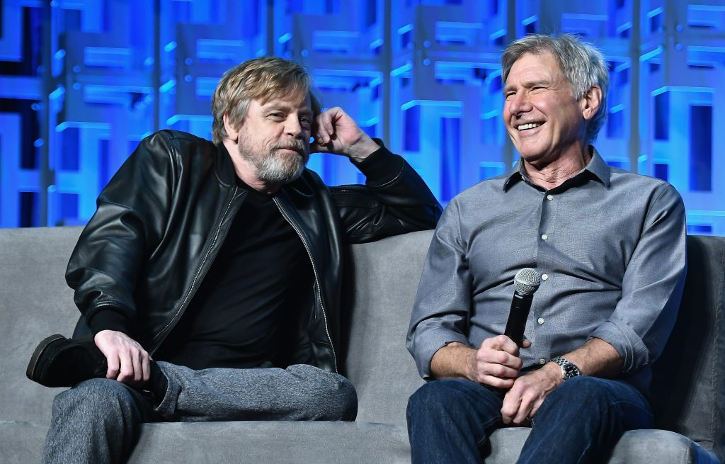 'Star Wars' Mark Hamill and Harrison Ford