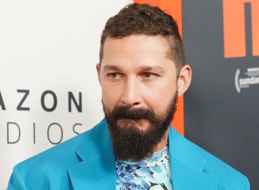 Shia LaBeouf attends the premiere of 'Honey Boy' at Amazon Studios