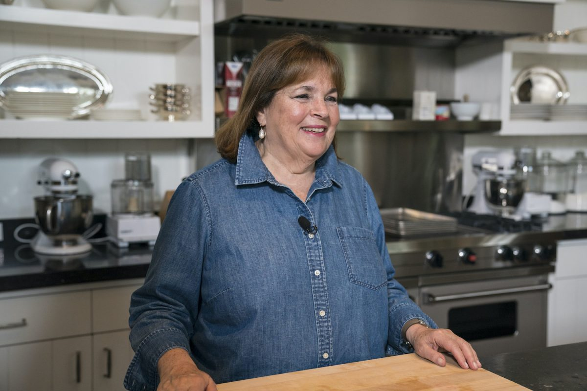 Ina Garten on Sunday today October 10, 2018