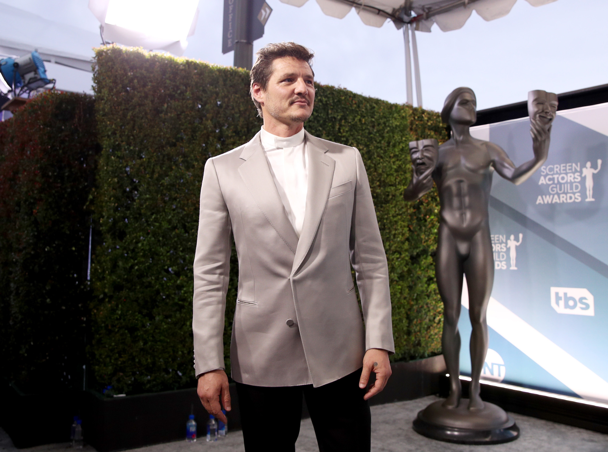 Pedro Pascal at the 26th Annual Screen Actors Guild Awards at The Shrine Auditorium on January 19, 2020 in Los Angeles, California