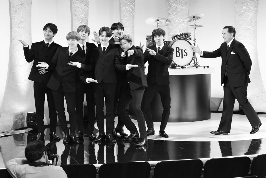 'The Late Show with Stephen Colbert' and BTS guests