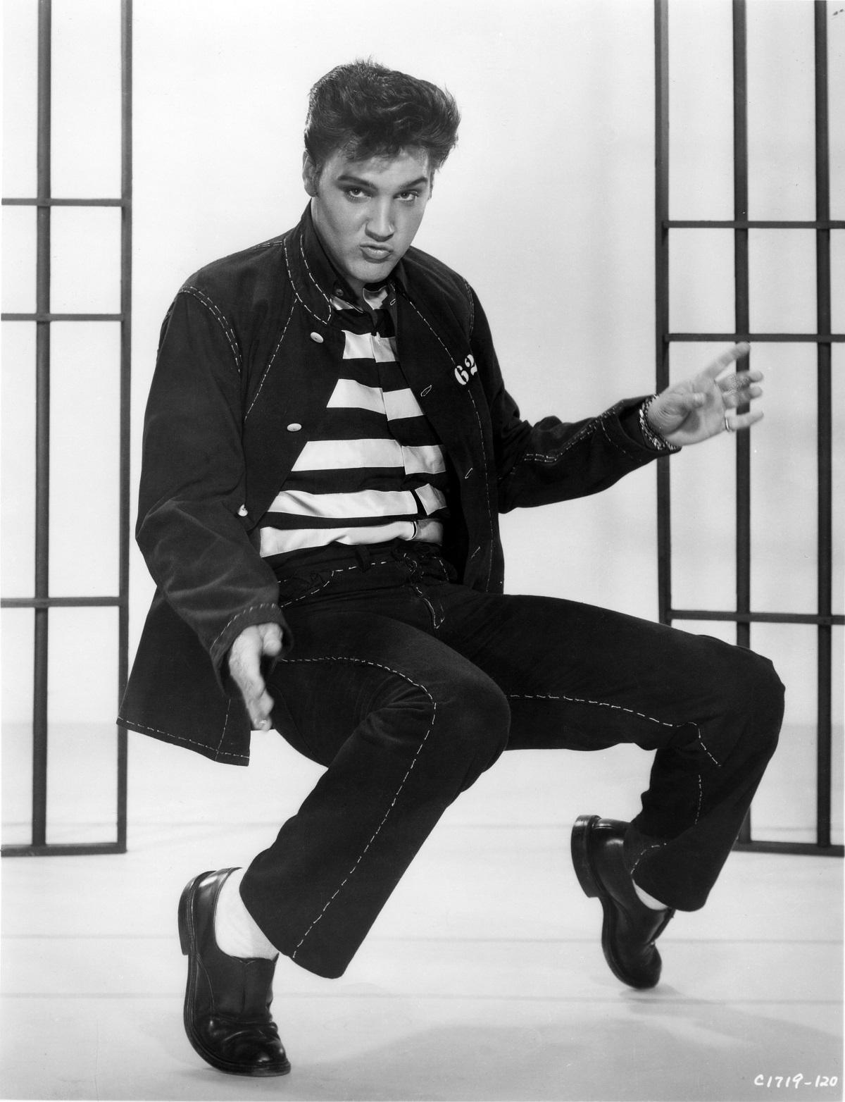 Elvis Presley in 'Jailhouse Rock'