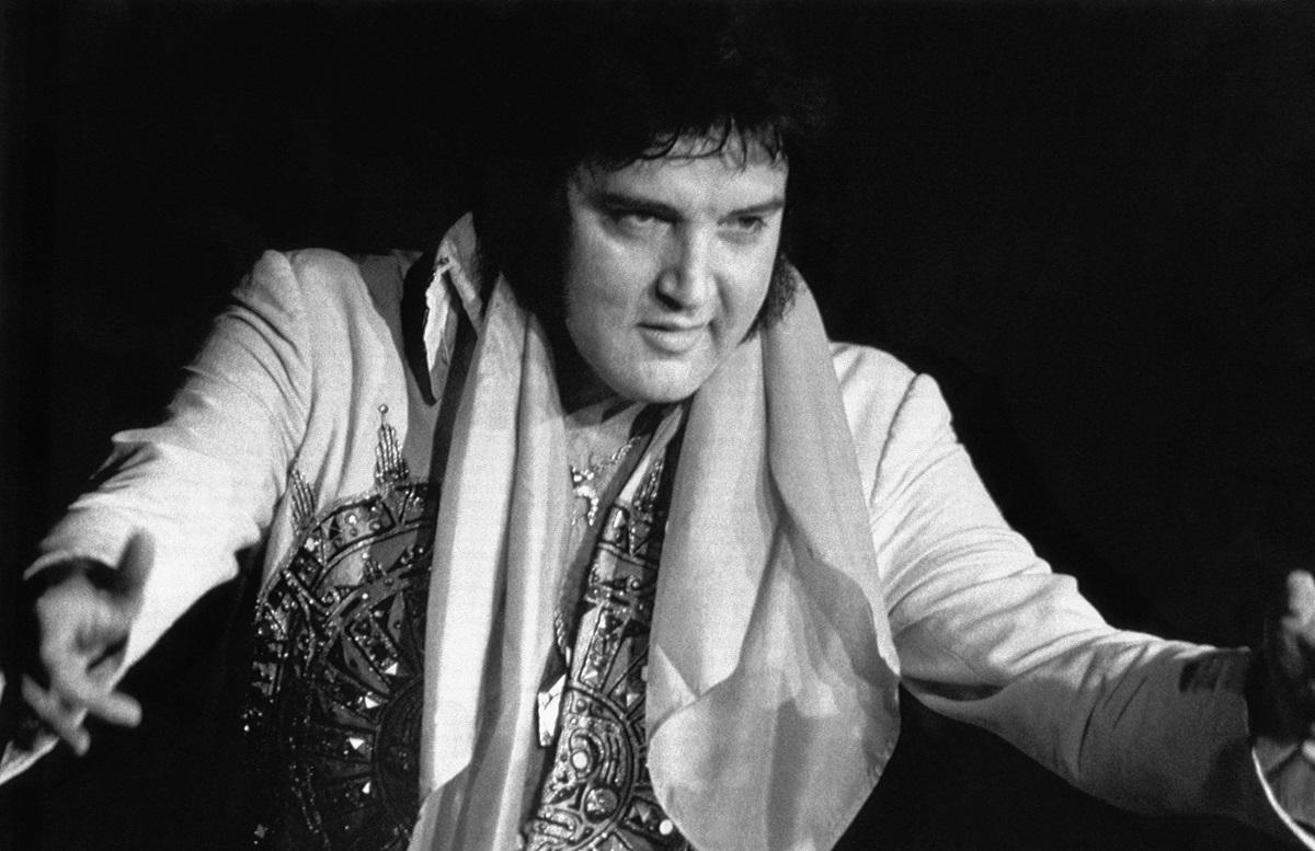 Elvis Presley in 1977