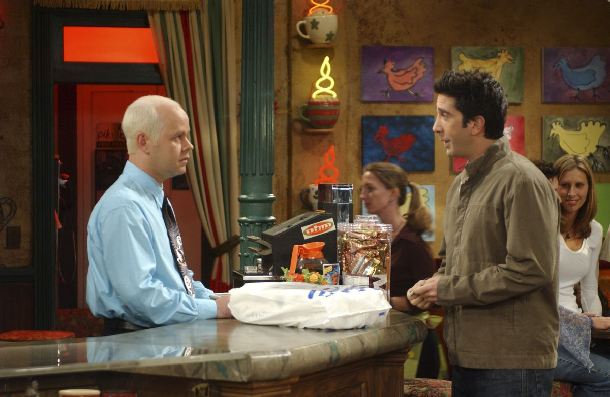 Gunther and Ross on Friends